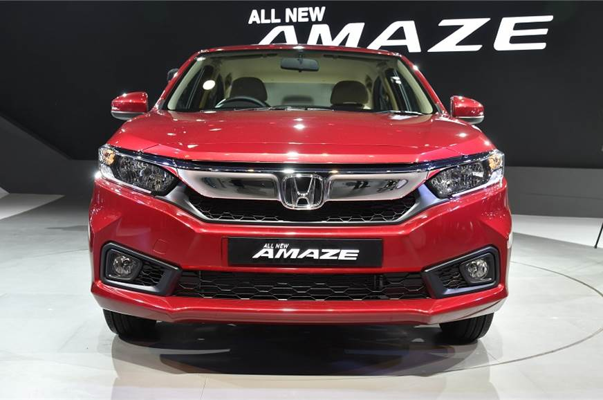 New Amaze Borrows Styling Cues From Larger Honda Sedans