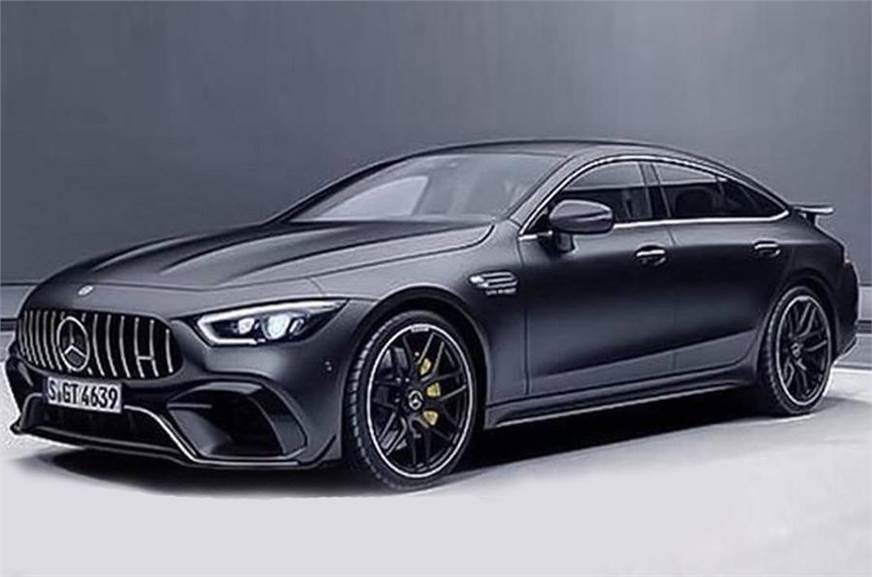 Mercedes Amg Gt Four Door Coupe Leaked Autocar India