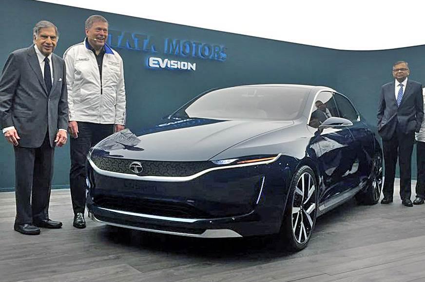 Tata Evision Sedan Concept Unveiled At Geneva Motor Show 2018