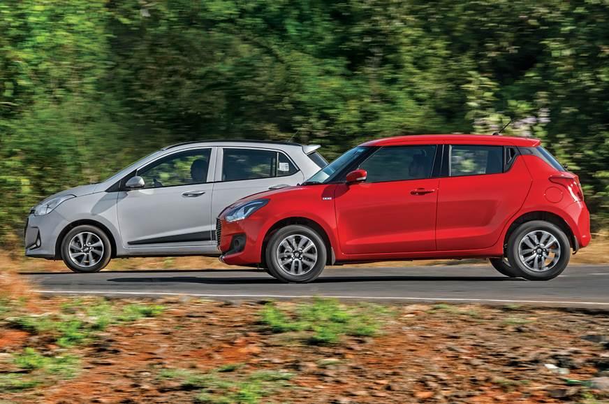 2018 Maruti Swift Vs Hyundai Grand I10 Comparison Review And Test