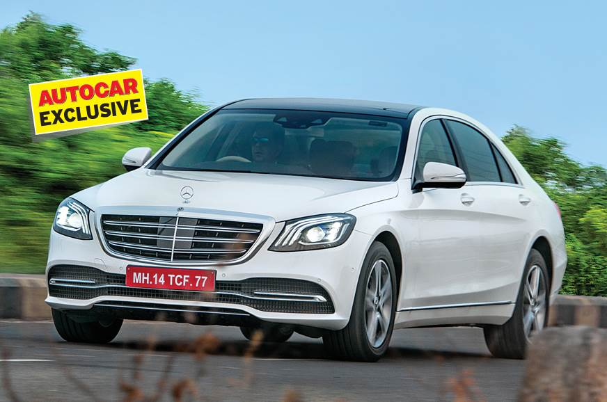 2018 Mercedes-Benz S-class facelift diesel and petrol India review