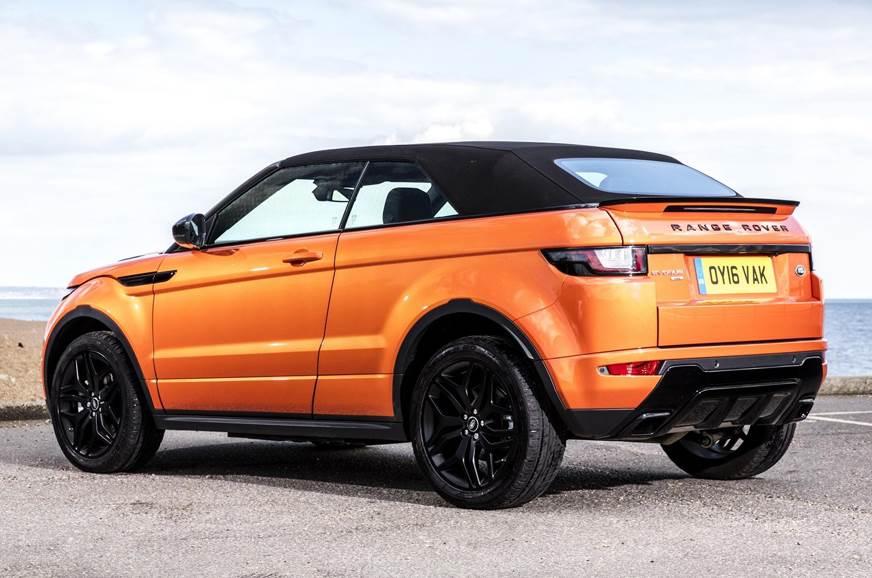 Land Rover Will Launch The Unique Range Rover Evoque Convertible