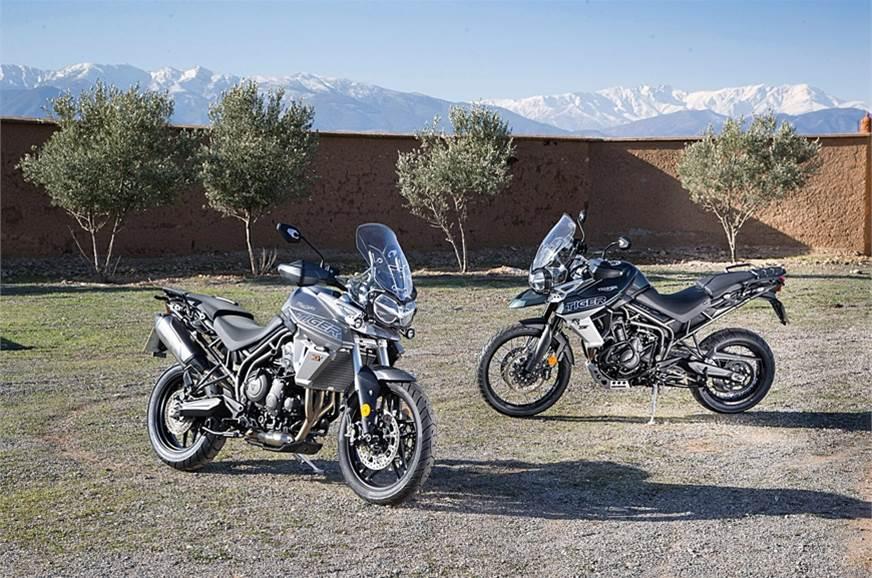2018 Triumph Tiger 800 Adventure Touring Bike Range Launch On March