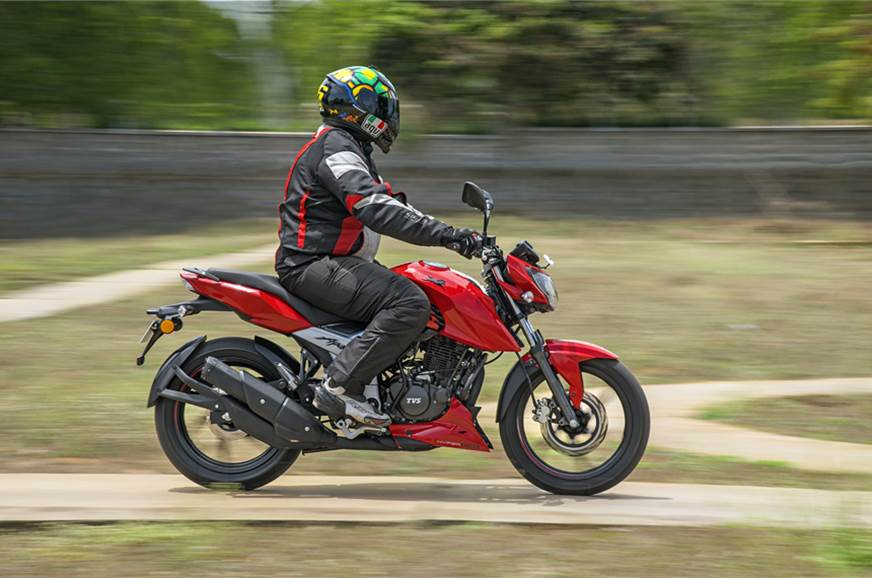 2018 TVS Apache RTR 160 V4 review, test ride - Autocar India