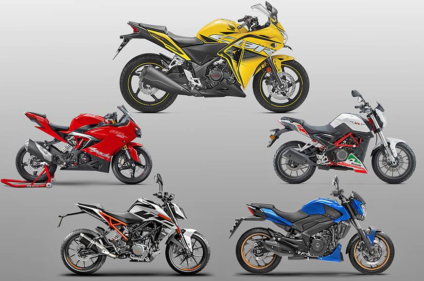 2018 Honda Cbr 250r Vs Rivals Specifications Comparison Autocar India