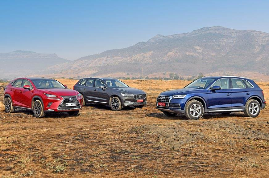 2018 Audi Q5 vs Lexus NX300h vs Volvo XC60 luxury SUV
