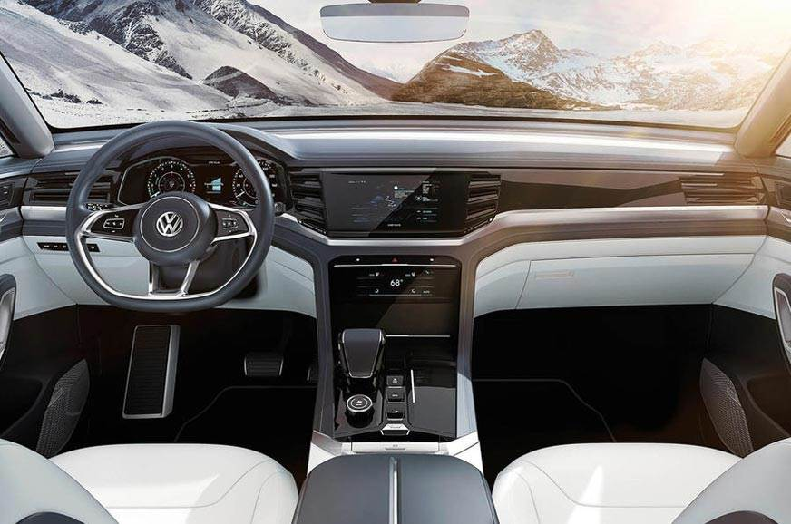 Volkswagen Atlas Cross Sport Suv Concept Unveiled Autocar