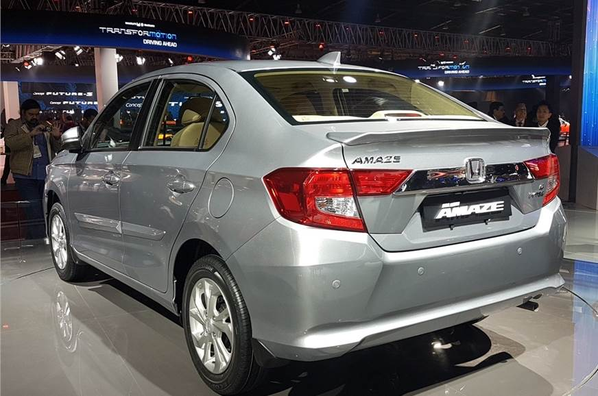 New Honda Amaze To Get Four Powertrain Options Launch In May