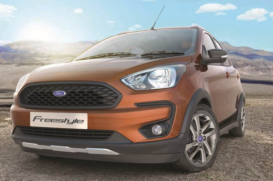 Ford Freestyle India Launch On April 18 2018 Bookings Open