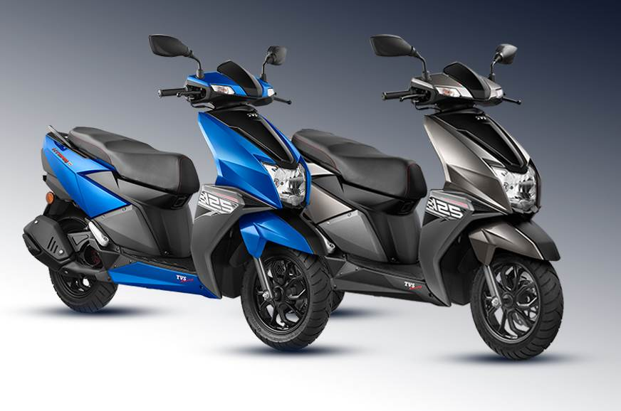 Tvs Ntorq 125 Now Available In Two New Colours Autocar India