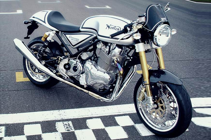 2018 Norton Commando 961 Cafe Racer launched at Rs 23 lakh ...