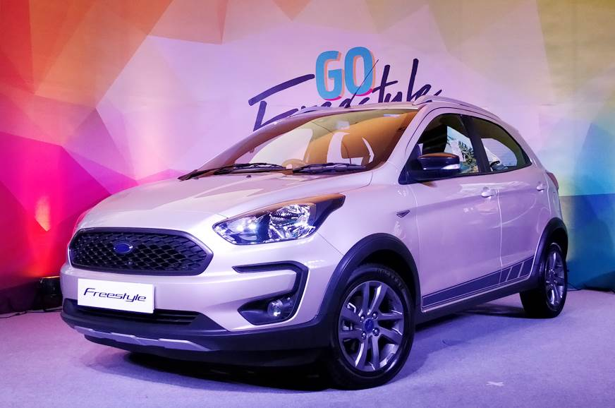 Ford New Car Launch >> 2018 Ford Freestyle Launched Rs 5 09 Lakh Autocar India