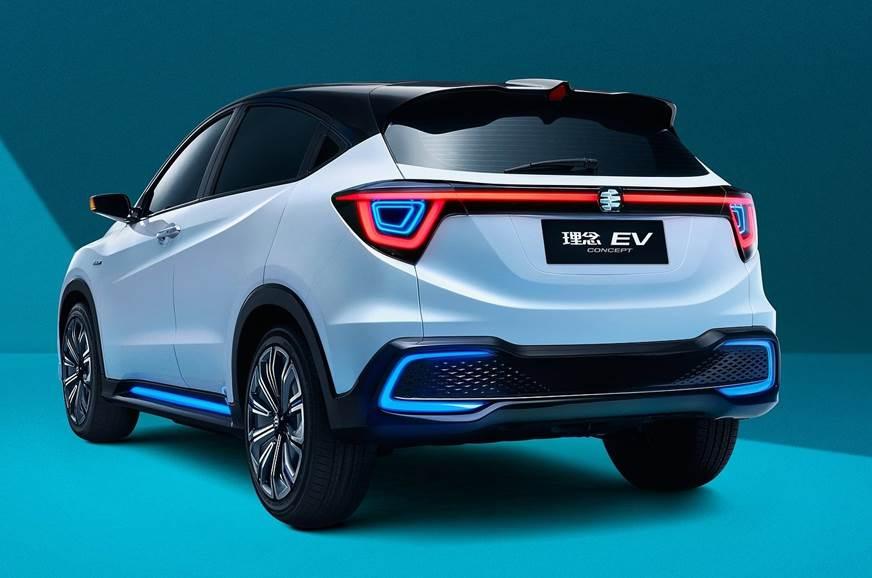 New Honda Suv >> New Honda Suv Showcased At Beijing Autocar India