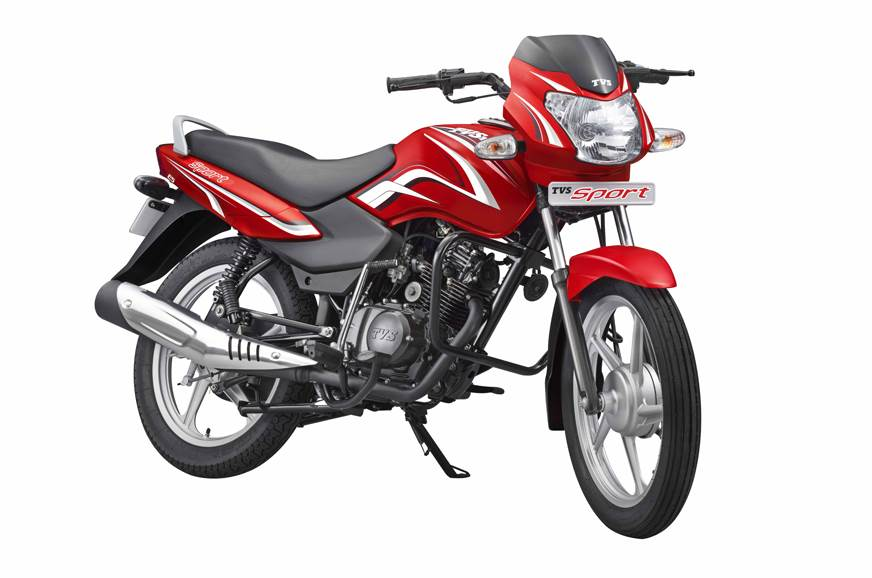 2018 Tvs Sport Silver Alloy Edition Launched In India At Rs 38 961