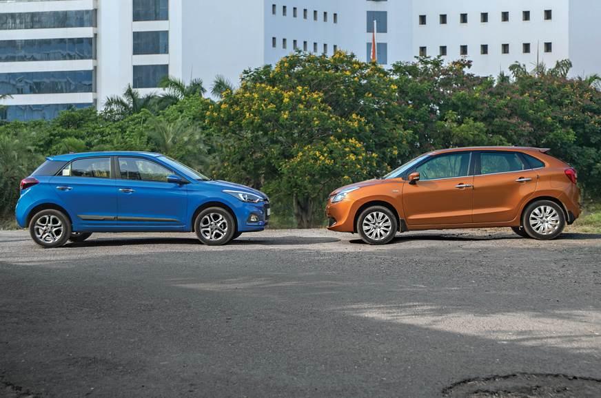 2018 Hyundai i20 facelift vs Maruti Suzuki Baleno comparison