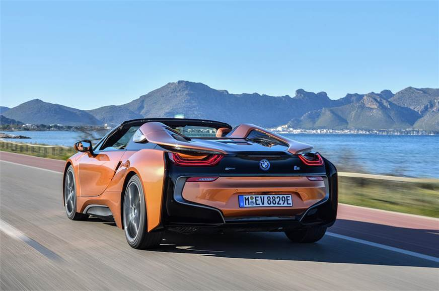 2018 Bmw I8 Roadster Review Test Drive Autocar India
