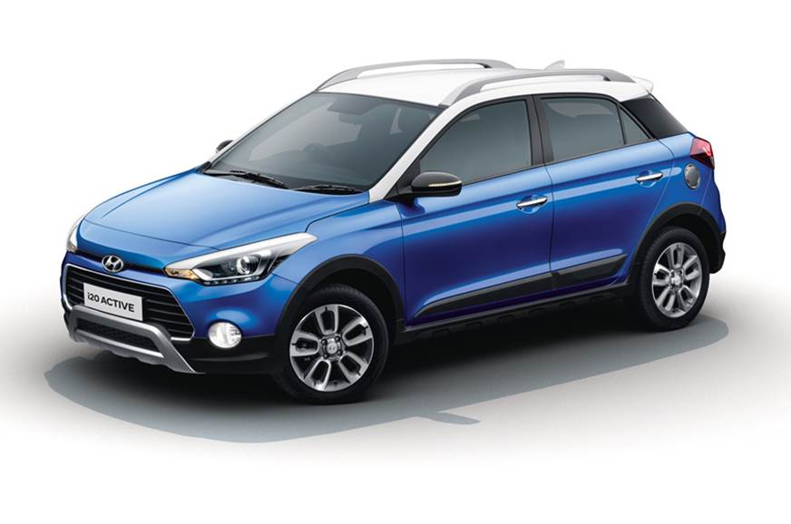 Hyundai i20 Active facelift cross-hatch launched at Rs 6 99