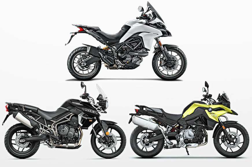 2018 bmw f 750 gs vs rivals specifications comparison. Black Bedroom Furniture Sets. Home Design Ideas