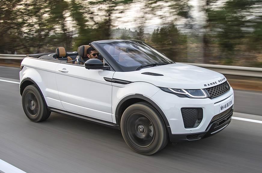 2018 Range Rover Evoque Convertible Review Test Drive Autocar India