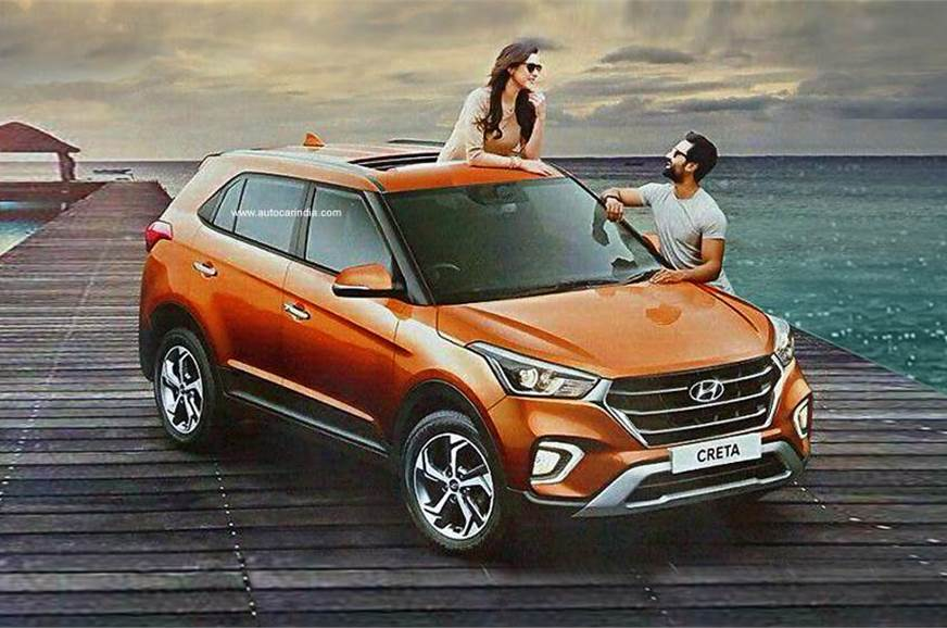 2018 Hyundai Creta Facelift Expected Price Sunroof Launch Date And