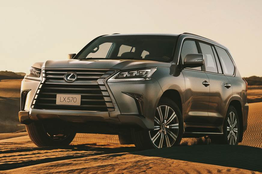 2018 Lexus Lx 570 Launched At Rs 2 33 Crore Autocar India