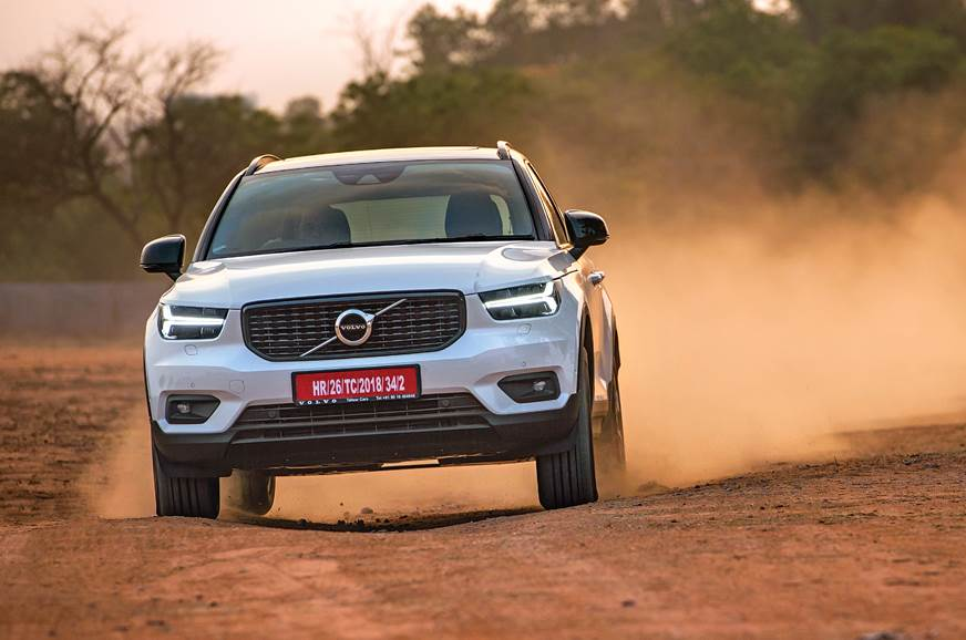 2018 Volvo Xc40 India Review Test Drive Autocar India