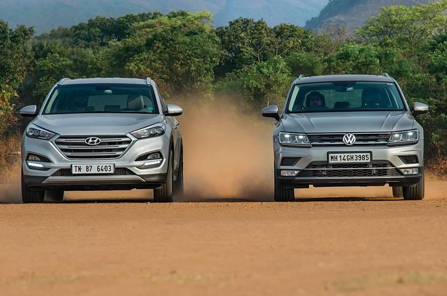 2018 Hyundai Tucson AWD vs Volkswagen Tiguan comparison