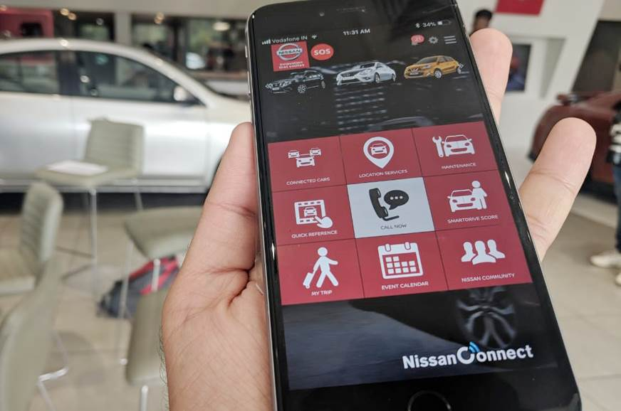 Nissan Connect upgraded to version 1 2 - Autocar India