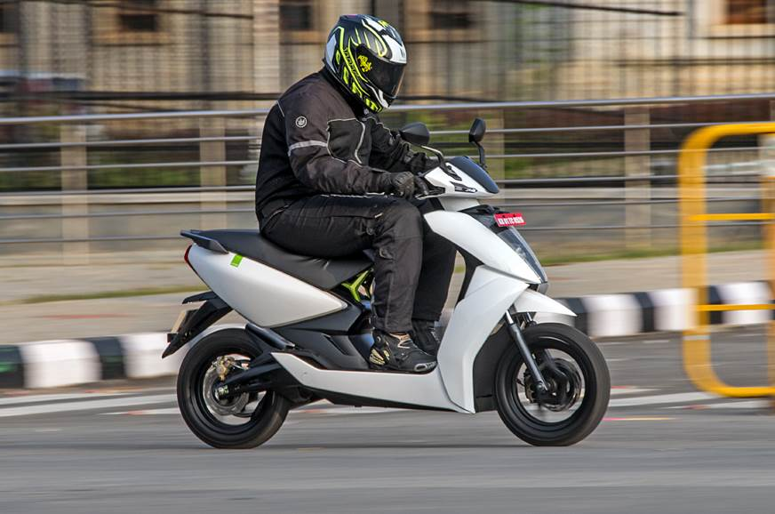2018 Ather 450 review, test ride of the electric scooter