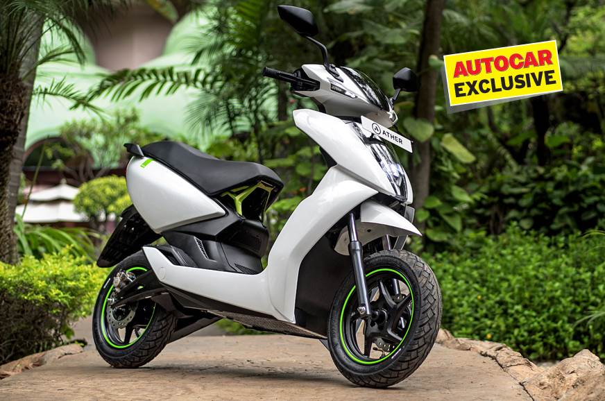 Ather Energy plans two new scooters by 2021 exclusive - Autocar India