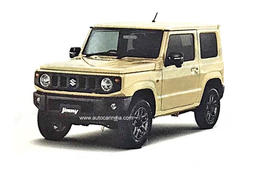 New Suzuki Jimny More Details Emerge Autocar India