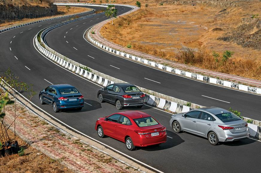 Yaris Vs City Vs Ciaz Vs Verna Which Is The Best Sedan Autocar India