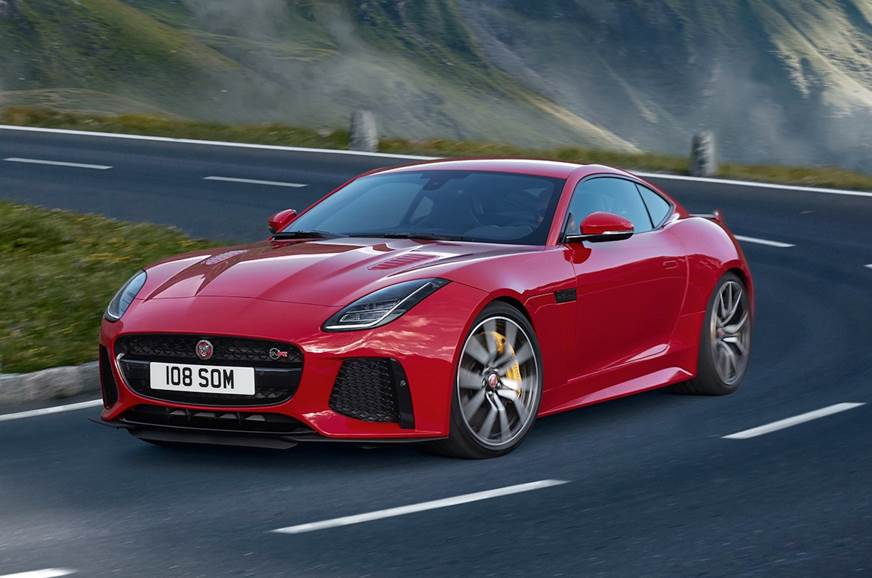 2018 jaguar f-type svr coupe, convertible launched - autocar india