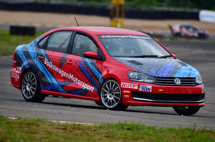 New Volkswagen Vento Race Car Under Development Autocar India