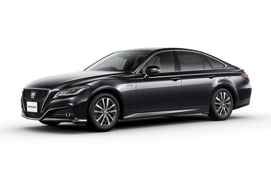 2018 Toyota Crown Revealed