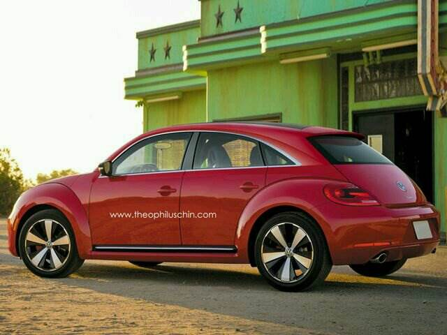 New Volkswagen Beetle To Go Full Electric