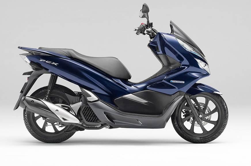 honda pcx 125 to get motorcycle hybrid tech autocar india. Black Bedroom Furniture Sets. Home Design Ideas