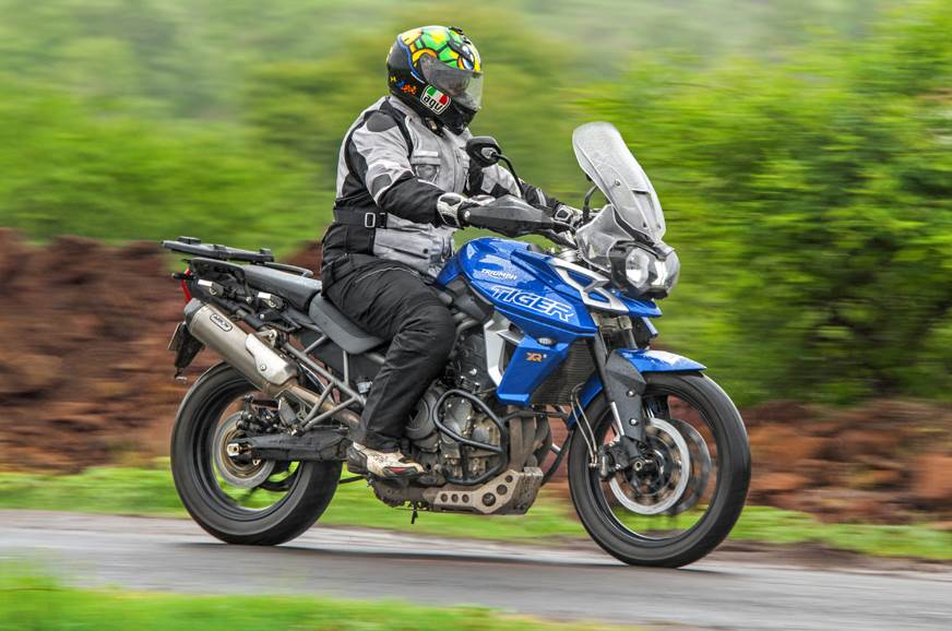 2018 Triumph Tiger 800 Xrx Review Test Ride Autocar India