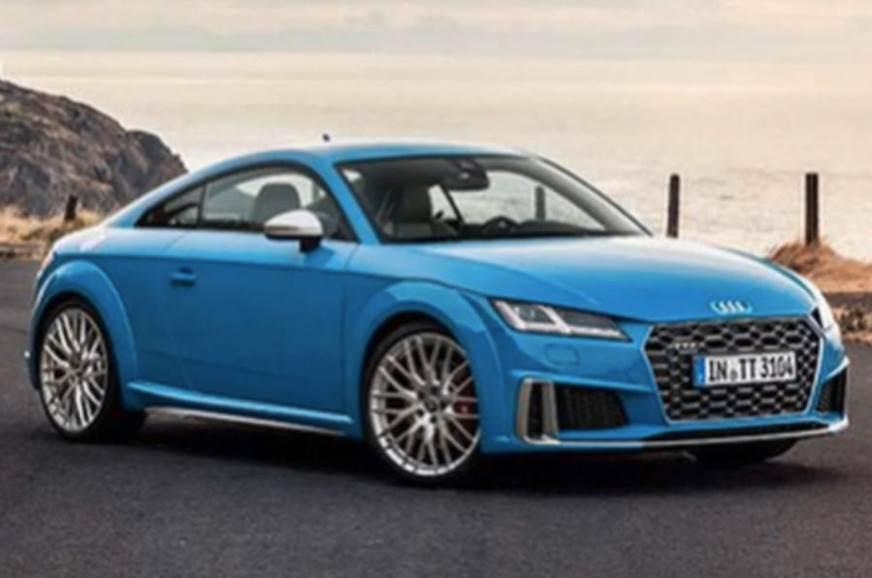 Audi TT Facelift Pictures Leaked Autocar India - Audi tt 2018