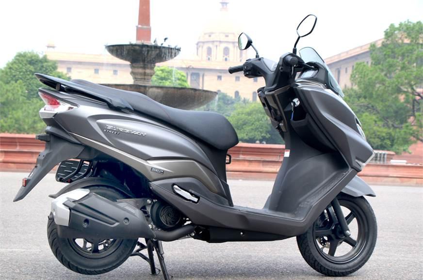Suzuki Burgman Review On First Ride – BhagavanScooters