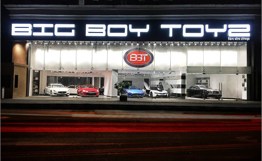 Big Boy Toyz Opens New Showroom In Mumbai Autocar India