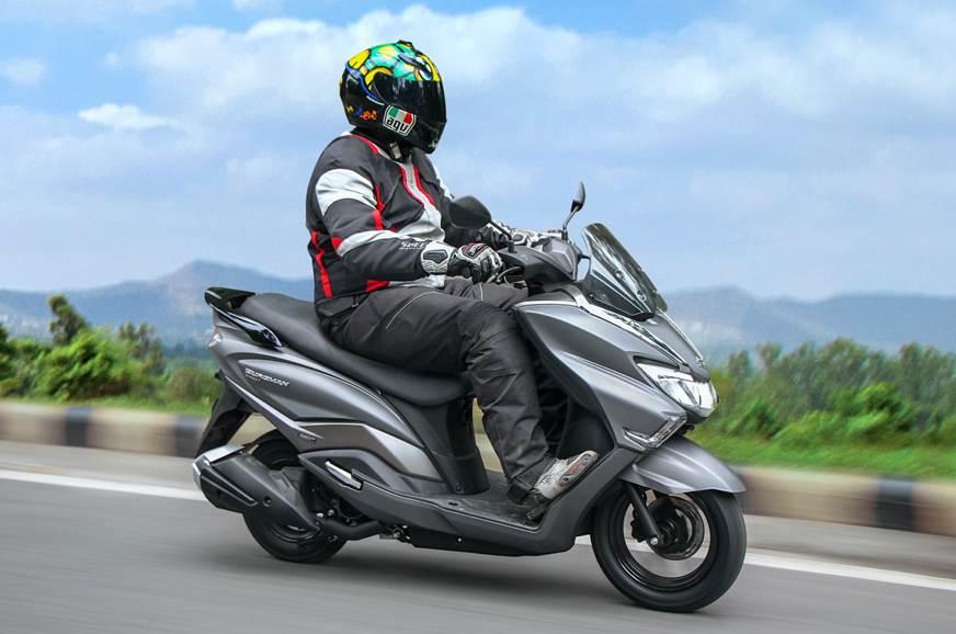 2018 Suzuki Burgman Street Review Test Ride Autocar India