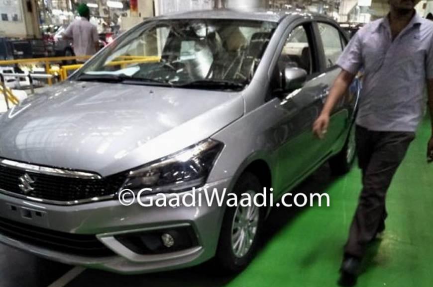 Maruti Suzuki Ciaz Facelift Launch On August 20 2018 Autocar India
