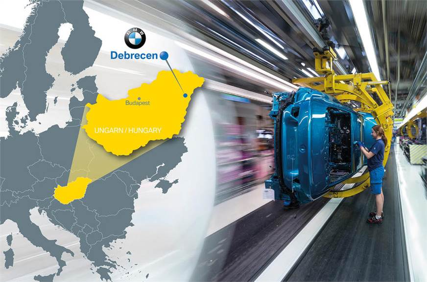 Bmw To Open New Factory In Hungary Autocar India