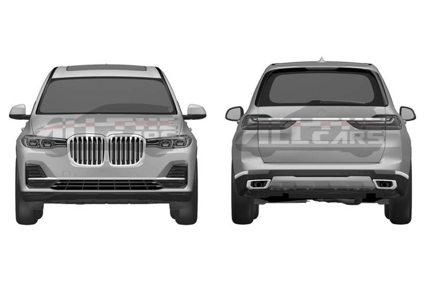 BMW X7 Patent Images Revealed