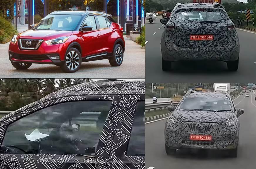 India Spec Nissan Kicks Interior Spied Autocar India