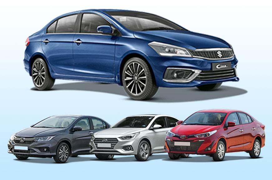 2018 Maruti Suzuki Ciaz Vs Rivals Specifications Comparison