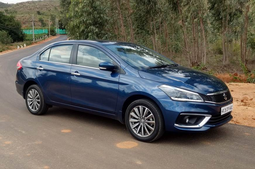2018 Maruti Suzuki Ciaz Facelift Price Variants Explained Autocar