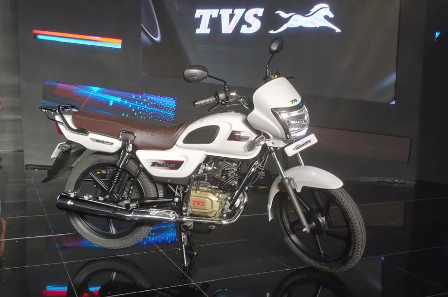 2018 Tvs Radeon 110 Launched At Rs 48400 Autocar India