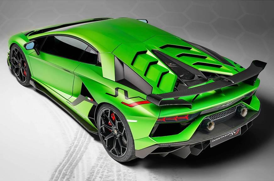 2019 Lamborghini Aventador Svj Unveiled At Pebble Beach Autocar India